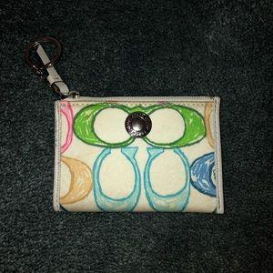 Coach change purse